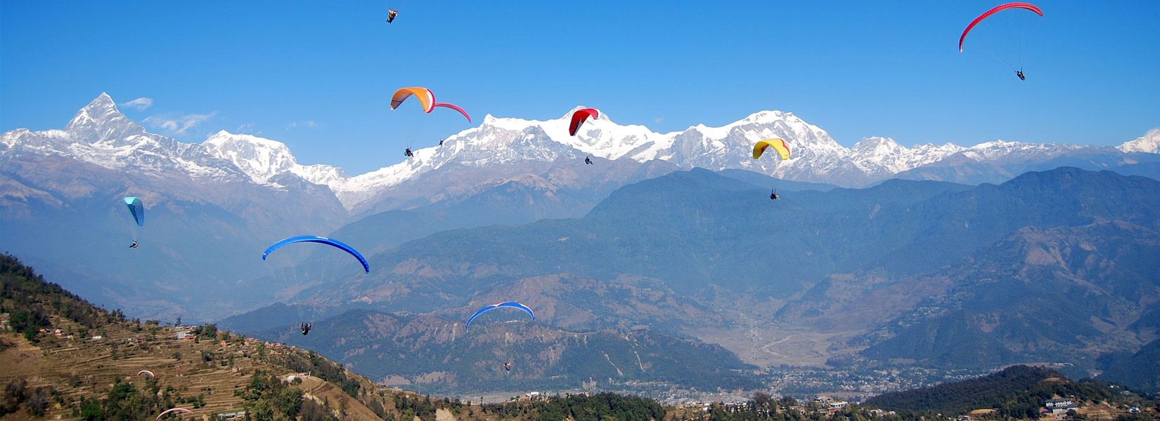 Dhampus Sarangkot Trek with Paragliding